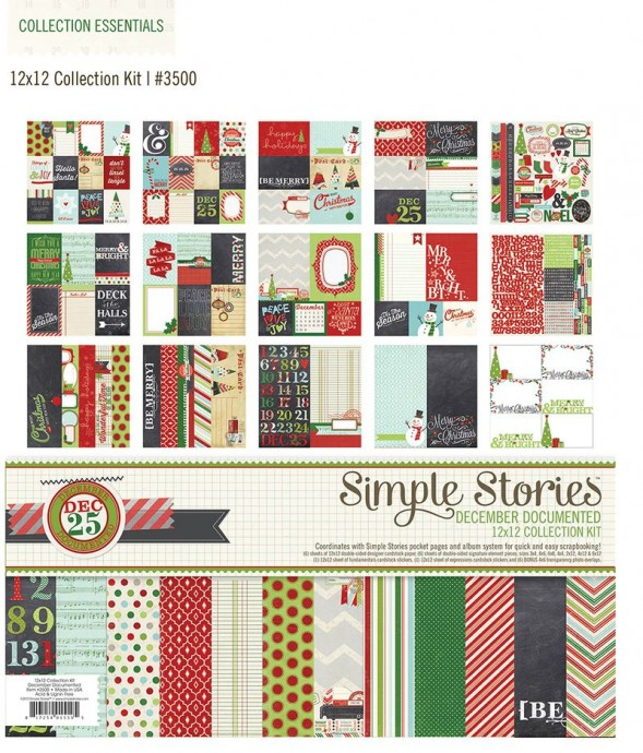 simple stories december documented kit