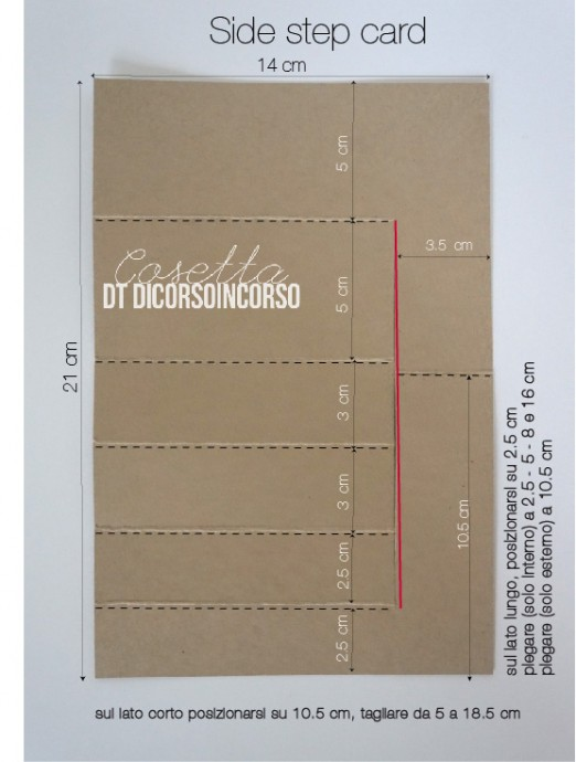 side step card