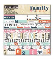 teresa collins family paper pad