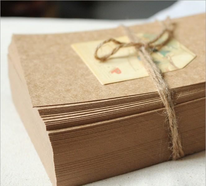 Free-Shipping-DIY-Kraft-font-b-Card-b-font-font-b-Scrapbooking-b-font-Paper-font