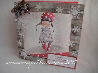 card white christmas
