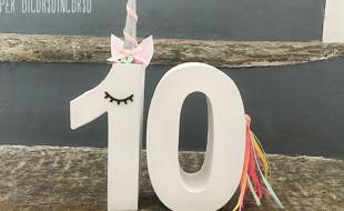 compleanno emma 10 anni  unicorno