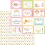 6818 cute as a button pattern paper