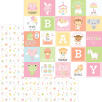 6821 binkies & bottles pattern paper