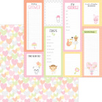 6824 showered with love pattern paper