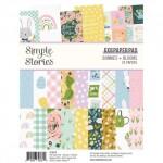 simple-stories-pad-bunnies-blooms-6x8