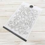 modascrap-timbri-clear-flowers-pattern